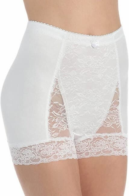 Ahh By Rhonda Shear Women Pin Up Lace Control Full Coverage Panty