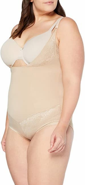 Flexees Women Maidenform Shapewar Curvy Firm Foundations WYOB BodyBriefer