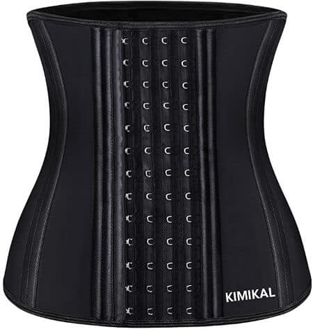 Kimikal Waist Trainer for Women Weight Loss- Latex Cincher Shaper Slimmer Corset