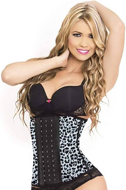 LadySlim by NuvoFit Lady Slim Fajas Colombiana Latex Waist Trainer Cincher Trimmer Corset Weight Loss Shaper