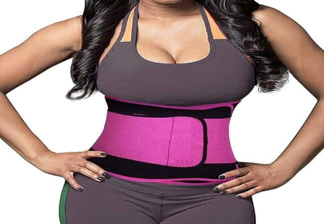 DEYACE Waist Trainer for Women, Back Support Plus Size Waist Trainer for Weight Loss Everyday Wear, Latex-Free Neoprene Waist Trimmer