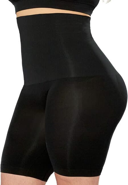 EMPETUA High Waisted Body Shaper Shorts - Shapewear for Women Tummy Control Small to Plus-Size