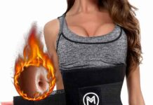 MERMAIDS MYSTERY Waist Trimmer Trainer Belt for Women Men Weight Loss