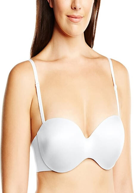 Maidenform Women Smooth Strapless Extra Coverage