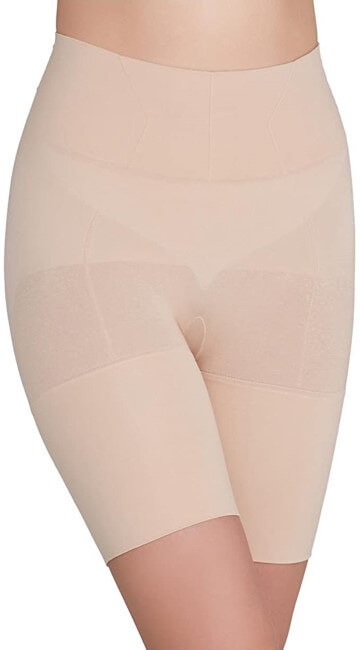SPANX Women Flat Out Flawless Extra Firm Control High Waist Shaper ASSETS Shaping Shorts