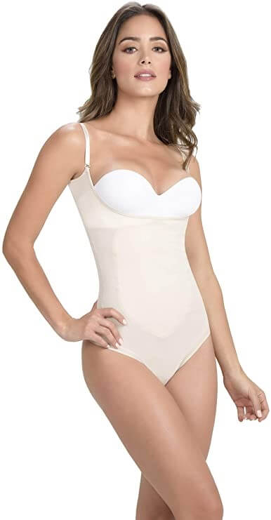 Shapewear Women Body Shaper Plus Bodysuit Thermal Hip-Hugger Faja