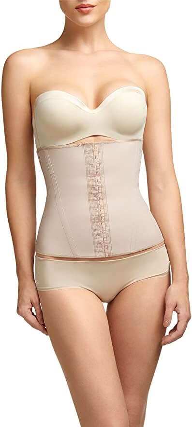 Squeem - Perfectly Curvy, Women Firm Control Strapless Waist Cincher